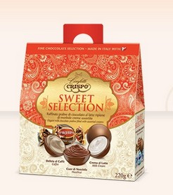CIOCCOLATINI CRISPO SWEET SELECTION GR.220