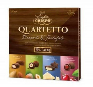 CIOCCOLATINI CRISPO QUARTETTO GR.250